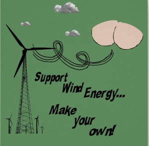 Support wind energy-fart