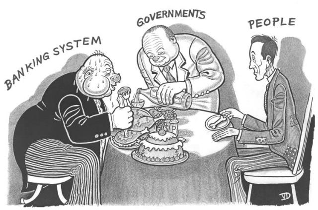 banks and govt