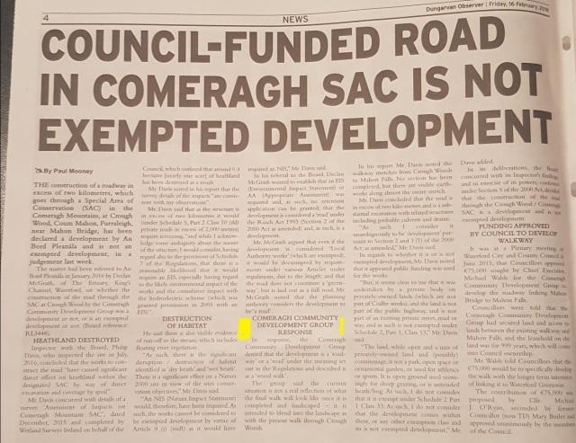CCDG newspaper